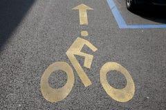 循环运输路线符号 免版税库存图片