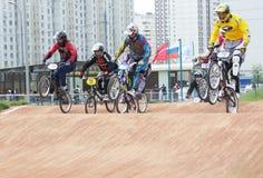 循环racings 免版税图库摄影
