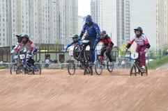 循环racings 免版税库存照片