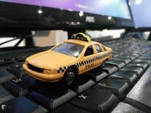 微型出租汽车 免版税库存图片