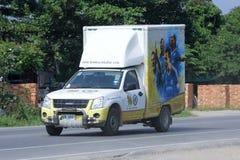 微型卡车唱Phatthana Chiangmai 免版税库存图片