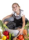 微型厨师 免版税库存图片