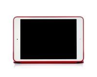 微型品牌的iPad的照片 免版税库存图片