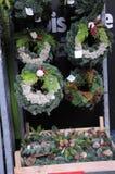 微型圣诞节TREET待售在丹麦 库存图片
