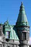 微型城堡的详细资料 免版税库存图片