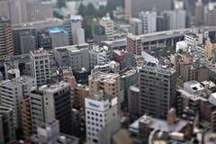 微型城市 免版税库存图片