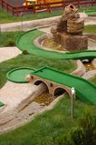 微型域的高尔夫球 库存照片
