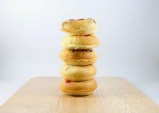 微型多福饼 图库摄影