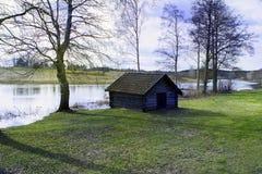 微型小屋 库存图片