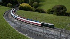 微型微型模型公园培训 库存照片