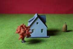 微型房子 库存图片