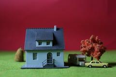 微型房子 图库摄影