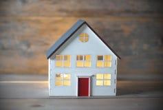 微型房子 库存照片