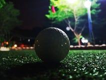 微型打高尔夫球 免版税库存图片