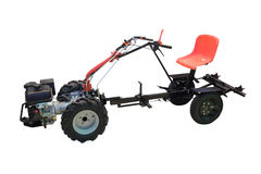 微型拖拉机 免版税库存图片