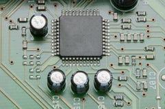 微型控制器板 免版税库存照片