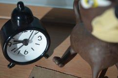微型时钟 免版税库存图片