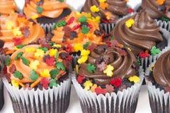 微型杯形蛋糕 免版税库存照片