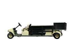 微型查出的卡车 免版税库存图片
