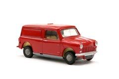 微型模型60戏弄有篷货车 库存图片
