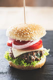 微型汉堡 免版税库存图片