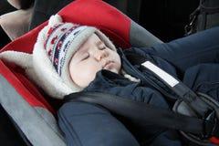 微型汽车位子休眠 图库摄影