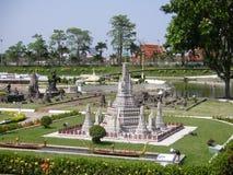 微型泰国,微型公园,芭达亚,泰国 库存照片