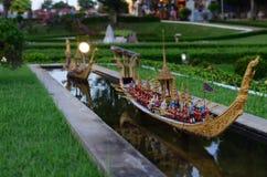 微型泰国 库存照片