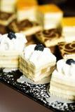 微型混合物甜点 图库摄影