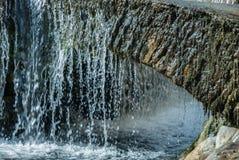 微型瀑布 图库摄影