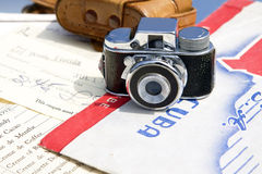 微型照相机 库存图片