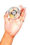 微型的光盘 免版税库存图片