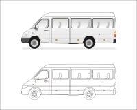 微型的公共汽车 库存照片