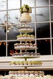 微型的杯形蛋糕 免版税库存图片