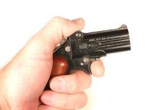 微型的枪 免版税库存图片