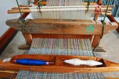微型的织布机 库存照片