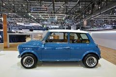 微型第88个日内瓦国际的汽车展示会2018年-重新灌录大卫汽车的布朗 免版税库存图片