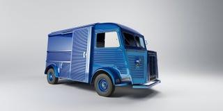 微型货车葡萄酒 库存照片