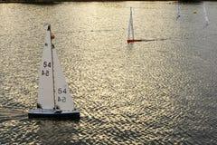 微型赛船会01, Emsworth,汉普郡 库存图片