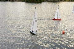 微型赛船会03, Emsworth,汉普郡 免版税库存照片