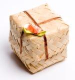 微型配件箱的工艺品 免版税库存照片