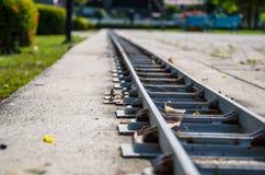 微型铁路 库存图片