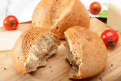 微型面包小圆面包 免版税库存照片