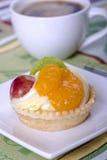 微型馅饼用布丁 免版税库存图片