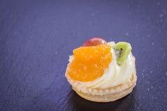 微型馅饼用布丁 免版税图库摄影