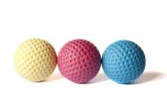 微型高尔夫球材料- 12 库存图片
