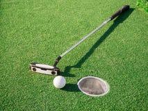 微型高尔夫球赛 库存图片