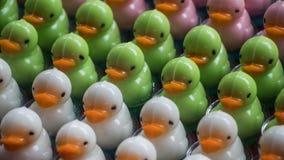微型鸭子型点心 库存照片
