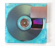 微型3个盘的媒体 图库摄影