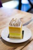微型Calamansi蛋糕 库存图片